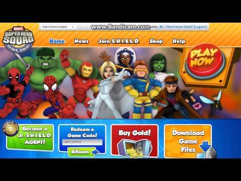 Marvel Superhero Squad Online Januari 2014 code for free Elemental Flames.