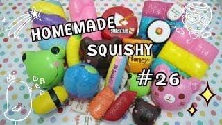 รีวิวสกุชชี่ทำเองที่ขาย #26 | DN Squishy Homemade |
