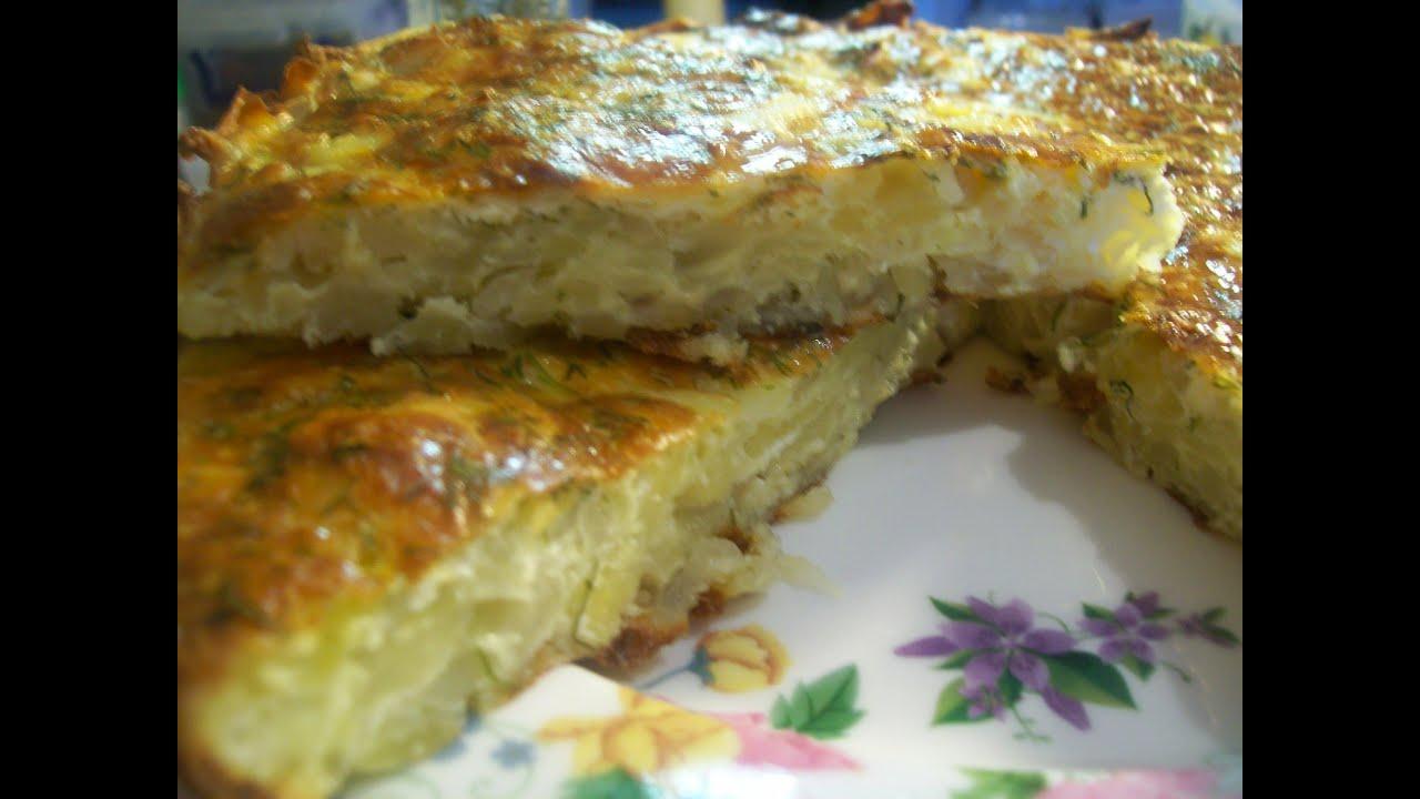 Картофельная запеканка с чесноком и сыром рецепт пошагово в