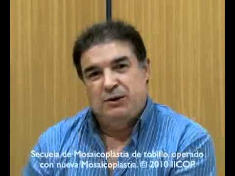MOSAICOPLASTIA REPARADORA DE CIRUGIA PREVIA MAL HECHA