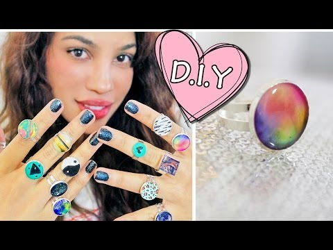 DIY: Glue Rings?!
