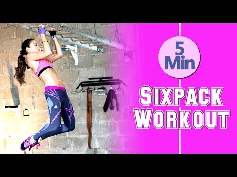 5 Min Bauch Workout - Beste Übungen für den Bauch - Effektiv & erfolgreich Bauchfett verlieren