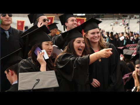 Boston College Commencement Highlights 2013