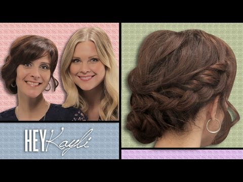 DIY: Messy Braided Bun!!