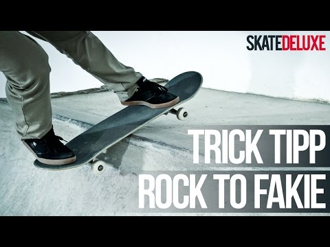 Skateboard Trick Tipp: Rock to Fakie | Deutsch/German | skatedeluxe