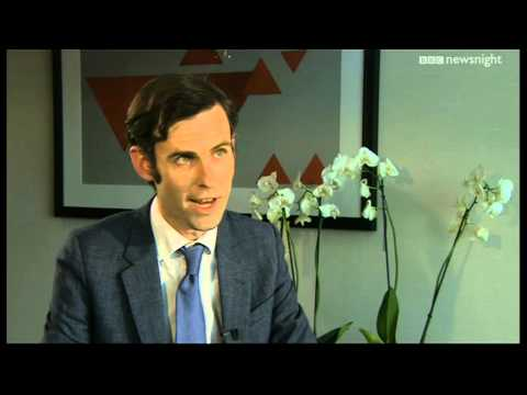 George Osborne on the Economy - Newsnight