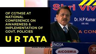 U R Tata of CGTMSE at National