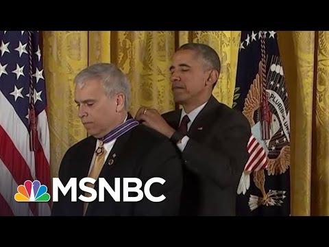 President Obama Recognizes Police Officers For Valor | MSNBC