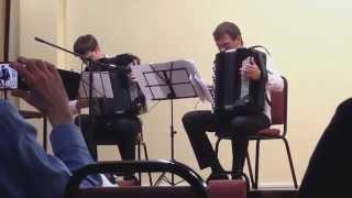 Download Lagu Virtuoso accordion duo playing William Tell. Gratis STAFABAND