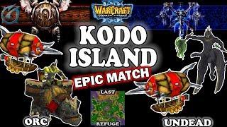 Grubby | Warcraft 3 TFT | 1.29 | ORC v UD on Last Refuge - KODO ISLAND