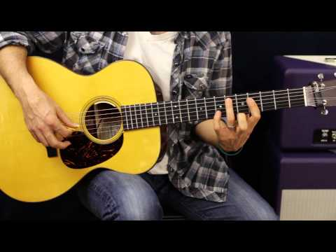 How To Play - Led Zeppelin - Ramble On - Acoustic Guitar Lesson - Part 1