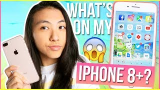 📲WHAT'S ON MY IPHONE 8 PLUS 2017?😍 Best Free Apps for iPhone X, 8, 7, 6, SE + IOS 11 | Katie Tracy