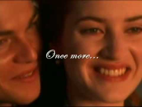 Celine Dion - My Heart Will Go On (TITANIC) Lyrics on screen...