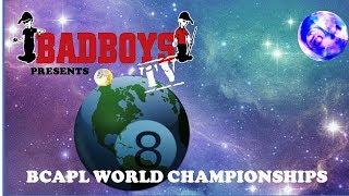 2018 BCAPL World Championships, Mens 9-ball Gold Div. Steve Blackburn vs Joey Bourgeois