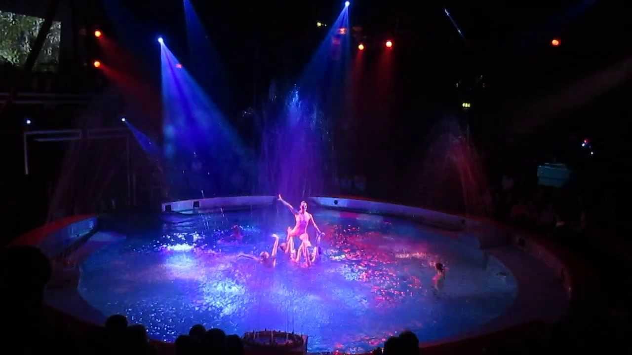 Great Yarmouth Hippodrome Circus Ring Transformation