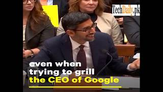 Congress having no idea How the ''Internet'' and ''Google'' works???