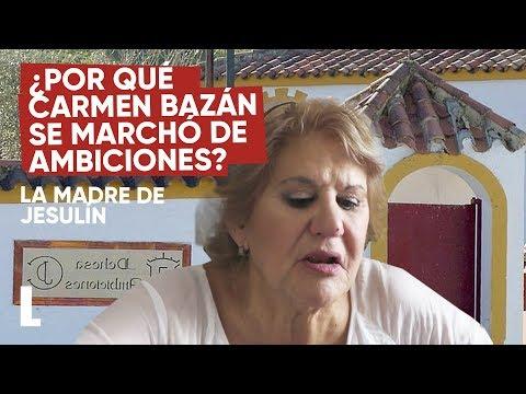 ¿Por qué Carmen Bazán se marchó de Ambiciones?