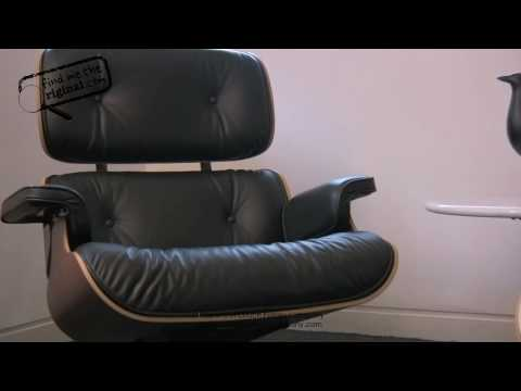 Eames Lounge Chair and Ottoman by Find Me The Original
