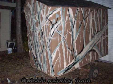 deer blind building