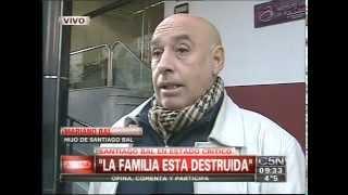 El hijo de Santiago Bal habló del estado de salud del artista: Es feo verlo así