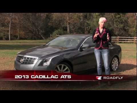 Cadillac ATS 2013 Car Review & Road Test with Emme Hall by RoadflyTV