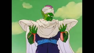 Piccolo takes supplements from the INFOWARS Store