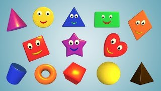 Learn Colors Shapes Sizes for Toddler & Preschooler | Funny Food Kids Games