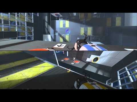 Portal 2 - Co-Op - Full Team Building Walkthrough