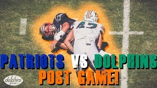 New England Patriots vs Miami Dolphins Week 2 Post Game!