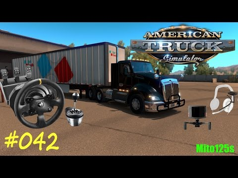 American Truck Simulator #042 Fail Carburante - Tx + Th8A + TrackIR 5