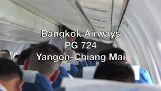 Bangkok Airways ATR 72-500 Flight Report: PG 724 Yangon to Chiang Mai