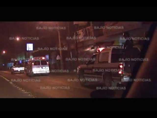 POLICIAS BALEADOS EN SAN FRANCISCO DEL RINCÓN, GTO