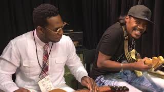 Eric Gales And Robert Randolph Namm 2019 Dunlop Booth