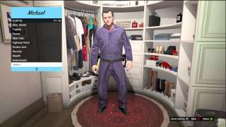 GTA 5 ALL OUTFIT OPTIONS (POLICE OFFICER, SCUBA DIVER, SECURITY GAUARD AND MORE!)