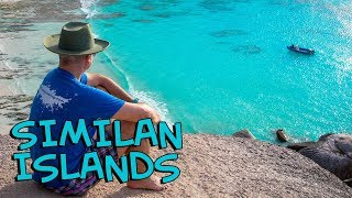 Cruising and scuba diving in Similan Islands