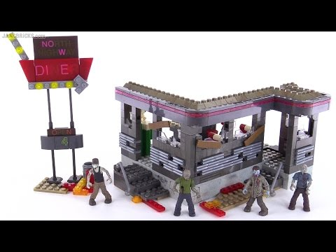 Mega Bloks Call of Duty Zombies Tranzit Diner review!