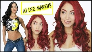 Aj Lee Inspired Makeup | WWE Divas