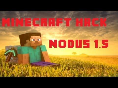 Nodus Minecraft 1.5.2+ Hack Best hacked client Nodus 1.5.2+ (exkl. 1.6.2) Instal