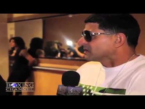 "Angel Garcia on Amir Khan's last fight, ""He still aint got no chin!"""
