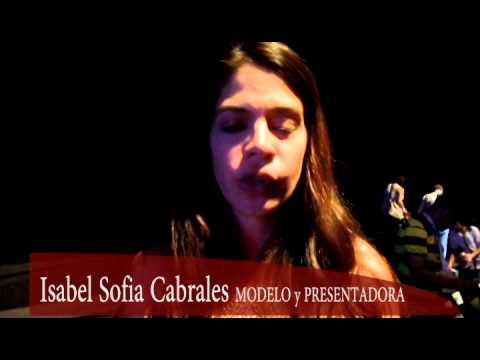 Invitación de Sofia Cabrales a Pasarela Ángeles