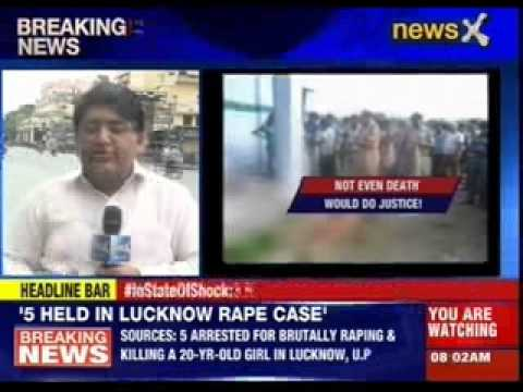 Breakthrough In Uttar Pradesh Gang Rape Case video