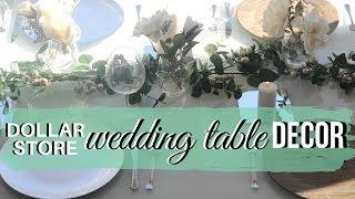 Download Lagu DIY DOLLAR STORE WEDDING TABLE DECOR tutorial Gratis STAFABAND