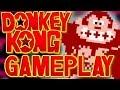 Donkey Kong (NES) | Game Walkthrough | Classic Nintendo Game Play