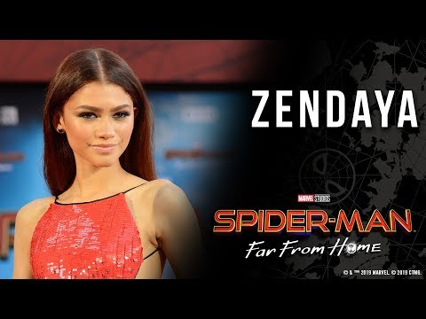 Download Zendaya finds inspiration for MJ at the Spider-Man: Far From Home world premiere Mp4 baru