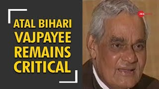 Download Lagu India prays for Atal Bihari Vajpayee: Ex-PM critical, on life-support system Gratis STAFABAND