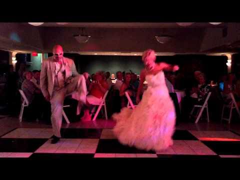 Meghan's Father Daughter Dance (dougie, Stanky Leg, Wobble, Bernie, Soulja Boy) video