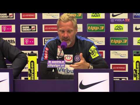 PK vor dem Spiel FK Austria Wien gegen SCR Altach