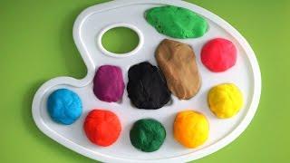 Surprise Colors Paint Pad - Learning Colour video for children - Finger Nursery Songs