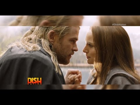 Chris Hemsworth Kissed His Wife in 'Thor: The Dark World'