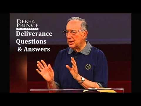 DEREK PRINCE ON DEMONS QUESTIONS AND ANSWERS ON DELIVERANCE